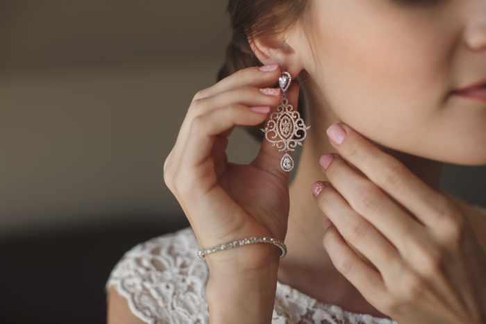 Women Wearing Earrings