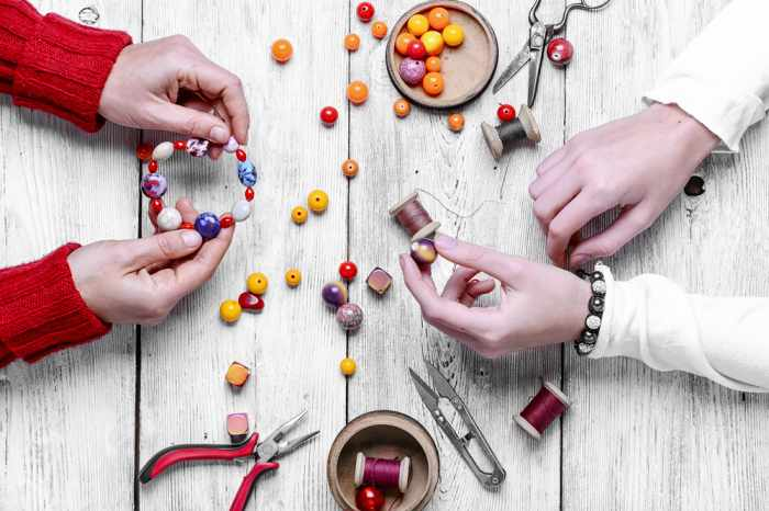 how to bracelets with beads